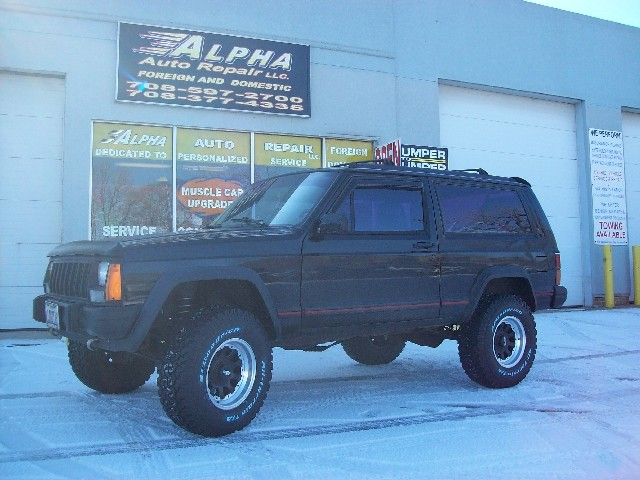 Jeep Wrangler Unlimited After Rough Country 25 Inch Lift